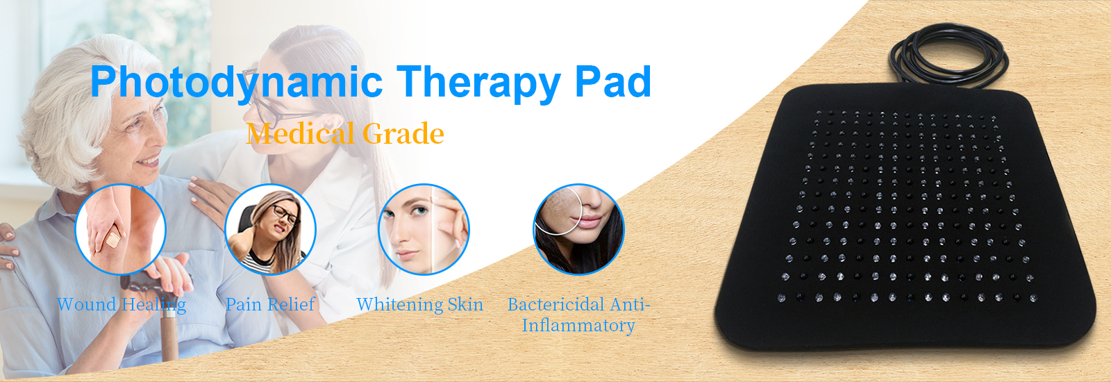 12V Photodynamic Therapy Equipment Near Infrared NIR Flex Pain Relief System
